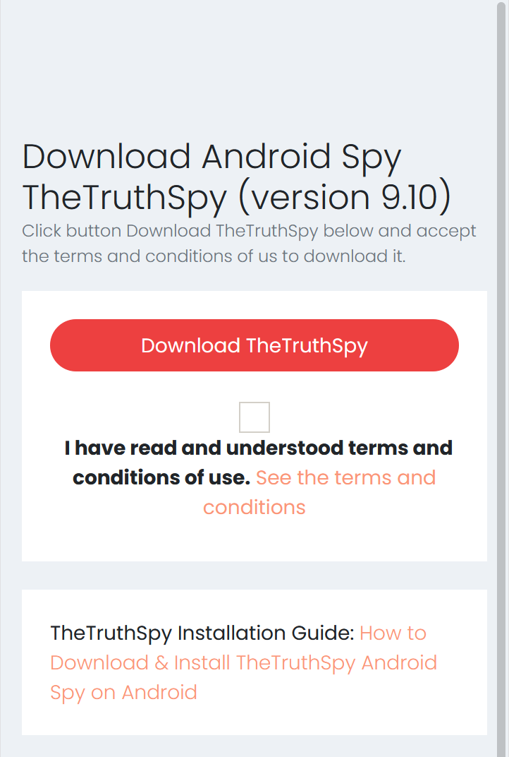 Step 1: Download Free Spy App